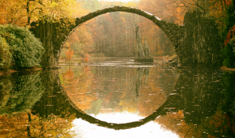 Ďáblův most připomíná bránu do jiného světa