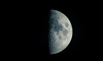 Víte že i na Měsíci jsou moře?