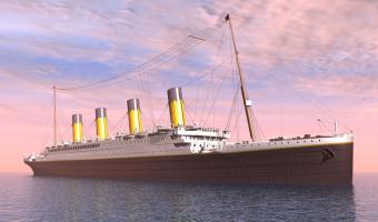 Za potopení Titaniku může Měsíc a Slunce
